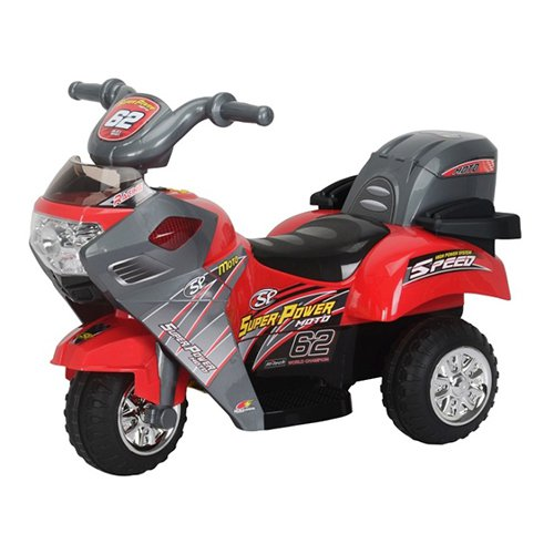 Best Ride On Cars Lil Motorcyle Battery Powered Riding Toy - Red