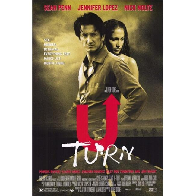 U Turn Movie Poster - 11 x 17 in. - image 1 de 1