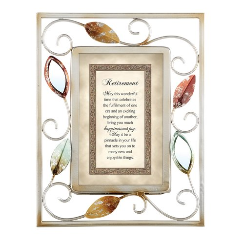 CB Gift Retirement Picture Frame