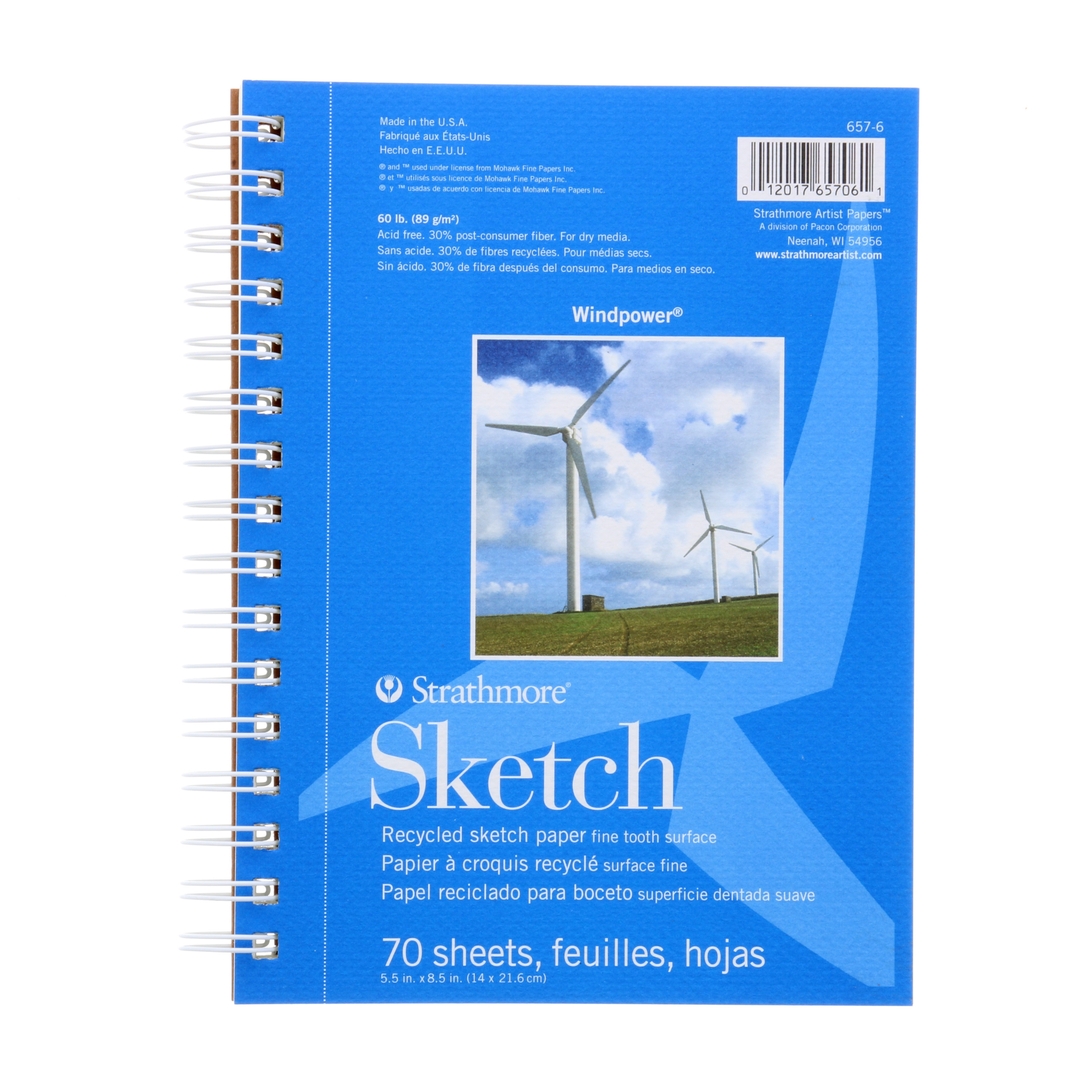 Strathmore Windpower Sketch Paper Pad 6 25 Quot X 8 25 Quot 70