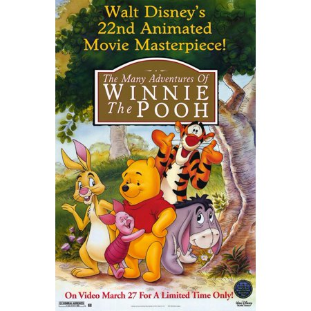 Many Adventures of Winnie the Pooh (2002) 11x17 Movie - Winnie The Pooh Halloween Full Movie