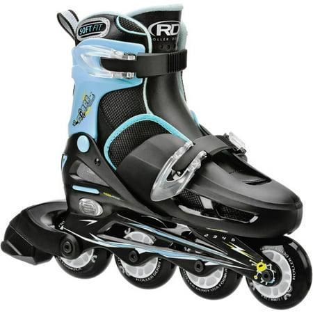 Roller Derby Skates Corp Cobra Inline Boys' Skates, Black