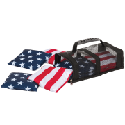 Go! Gater Gold Stars & Stripes Bean Bags - 6in 16oz - 8 Count