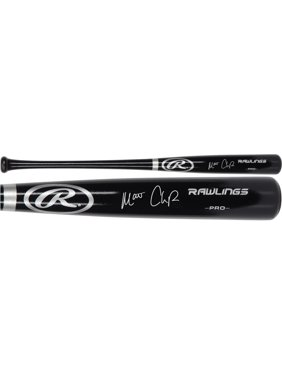 Matt Chapman Oakland Athletics Autographed Black Rawlings Pro Model Bat - Fanatics Authentic Certified