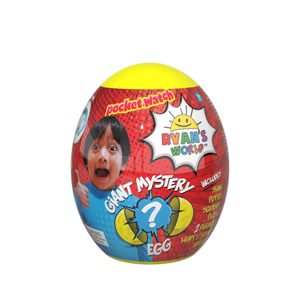 Ryans World Giant Mystery Egg (Toys In Eggs)