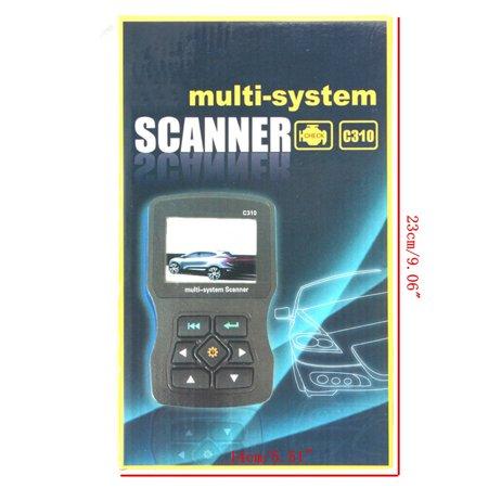 For BMW Creator C310 Multi System OBD2 II Diagnostic Code Reader Scanner Tool   - image 6 of 10