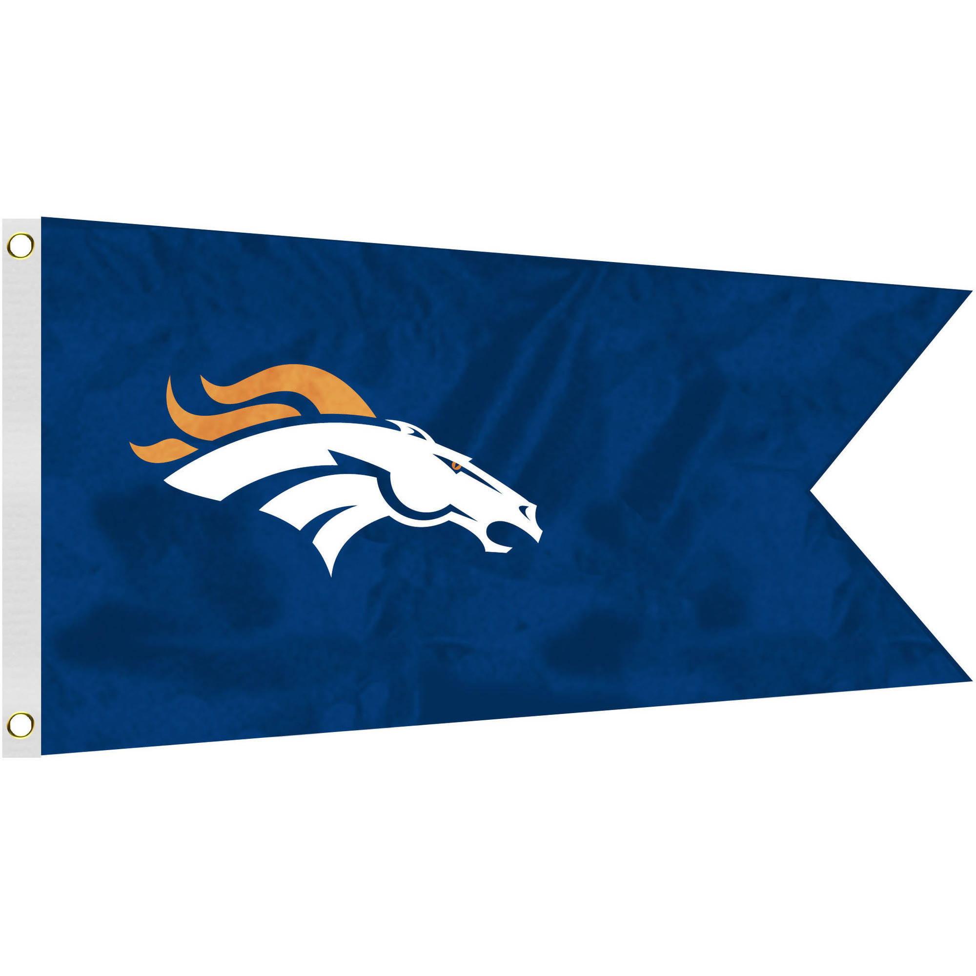 NFL Denver Broncos Boat Flag