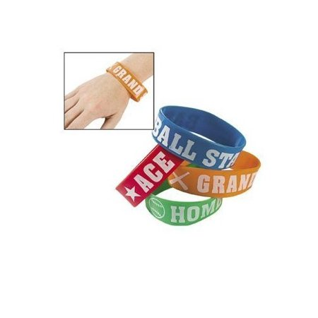 Baseball Big Band Bracelets - Novelty Jewelry & - Baseball Bracelets