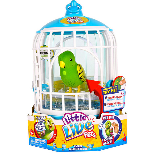 Little Live Pets Bird Cage, Friendly Frankie