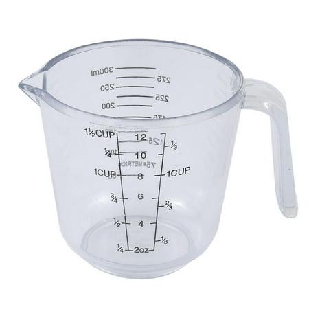 échelle graduée plast. cuisine solide liquide clair Tasse mesurer Bécher 300 ml - image 1 de 1