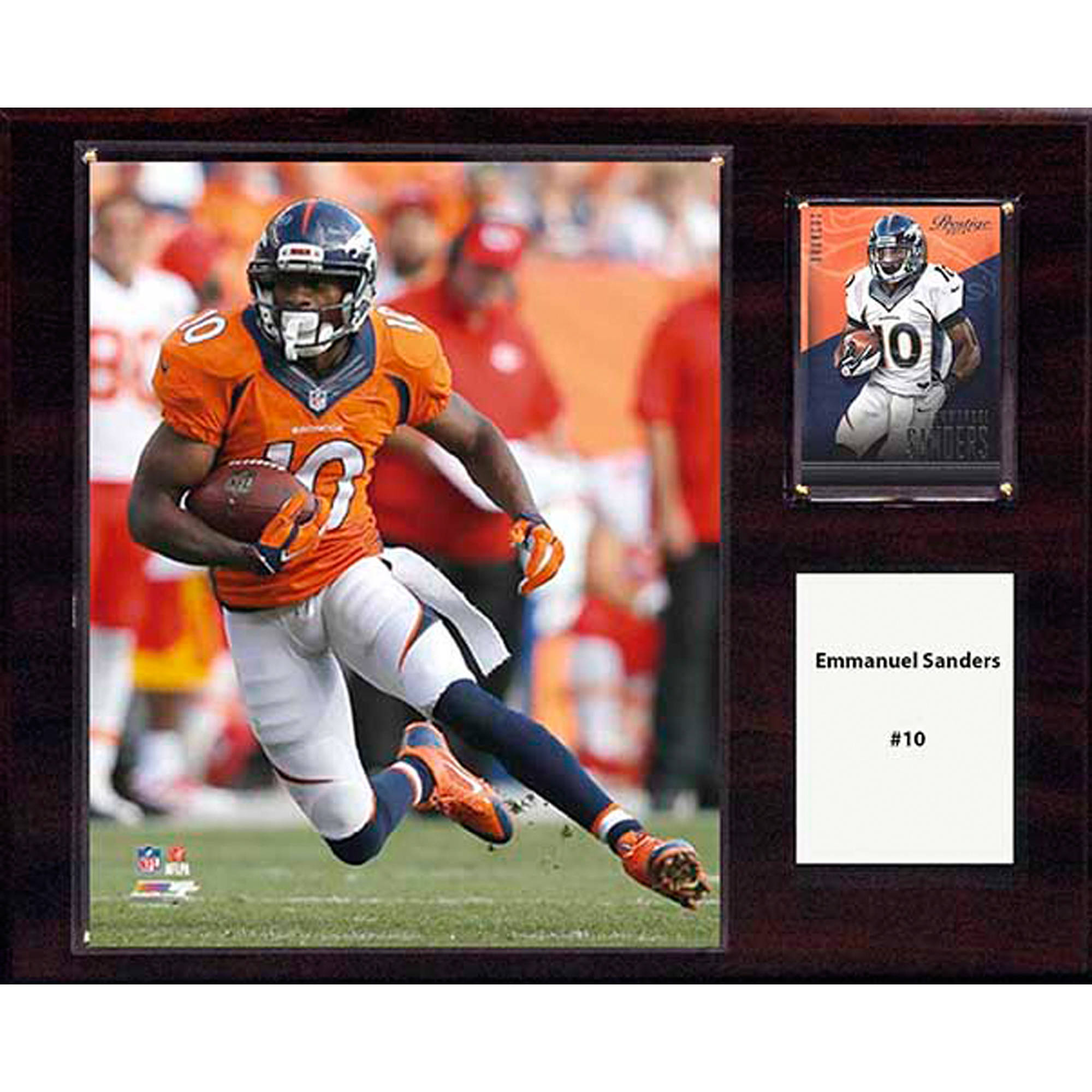 C&I Collectables NFL 12x15 Emmanuel Sanders Denver Broncos Player Plaque