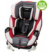 Evenflo Symphony DLX All-In-One Convertible Car Seat, Raspberry Sorbet