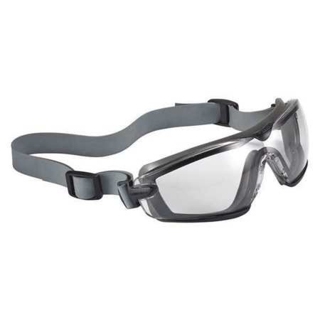 BOLLE SAFETY 40246 Safety Goggles,Clear Lens,No Venting