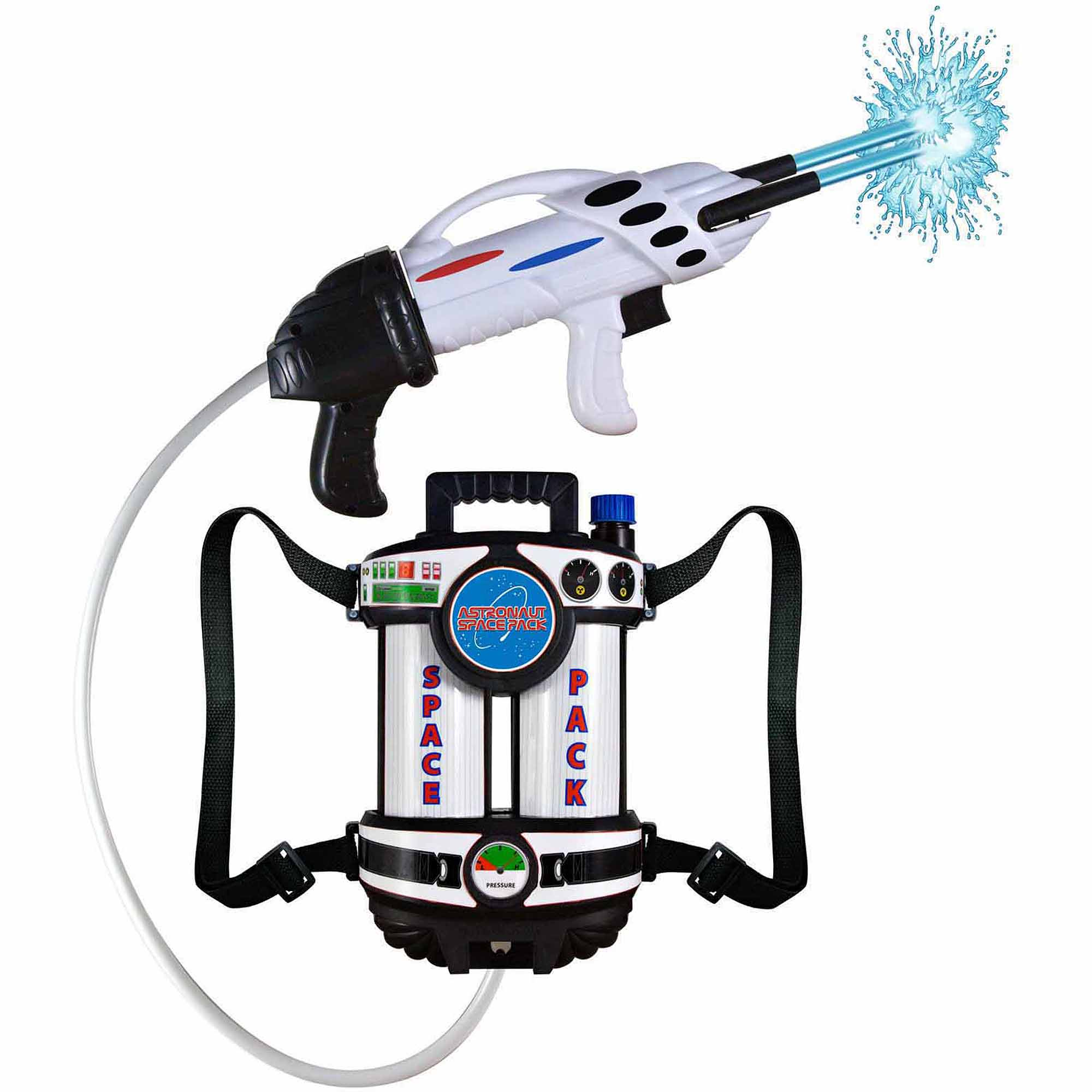 Astronaut Space Pack Super Soaking Water Blaster Halloween Costume Accessory