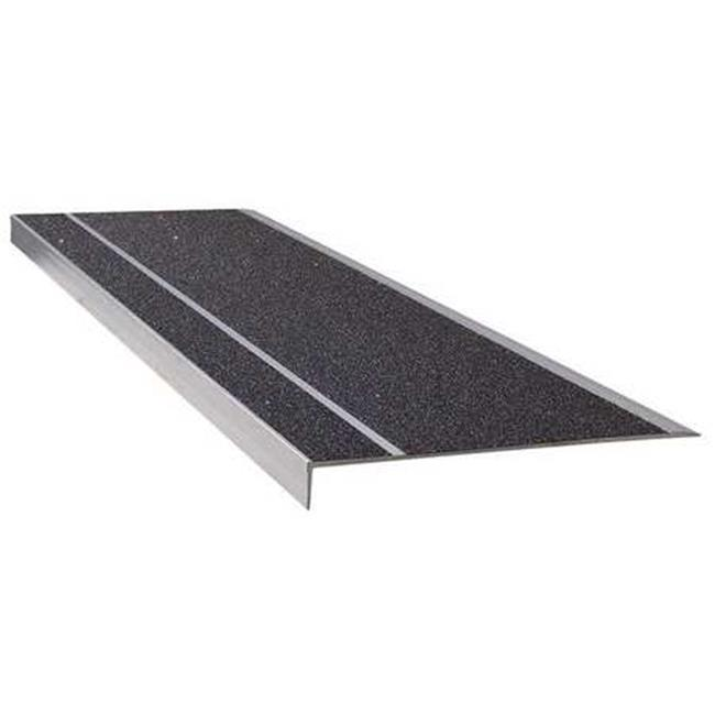 Anti Slip Stair Safety Treads 11 In. Deep X 3 Ft. Long, Black