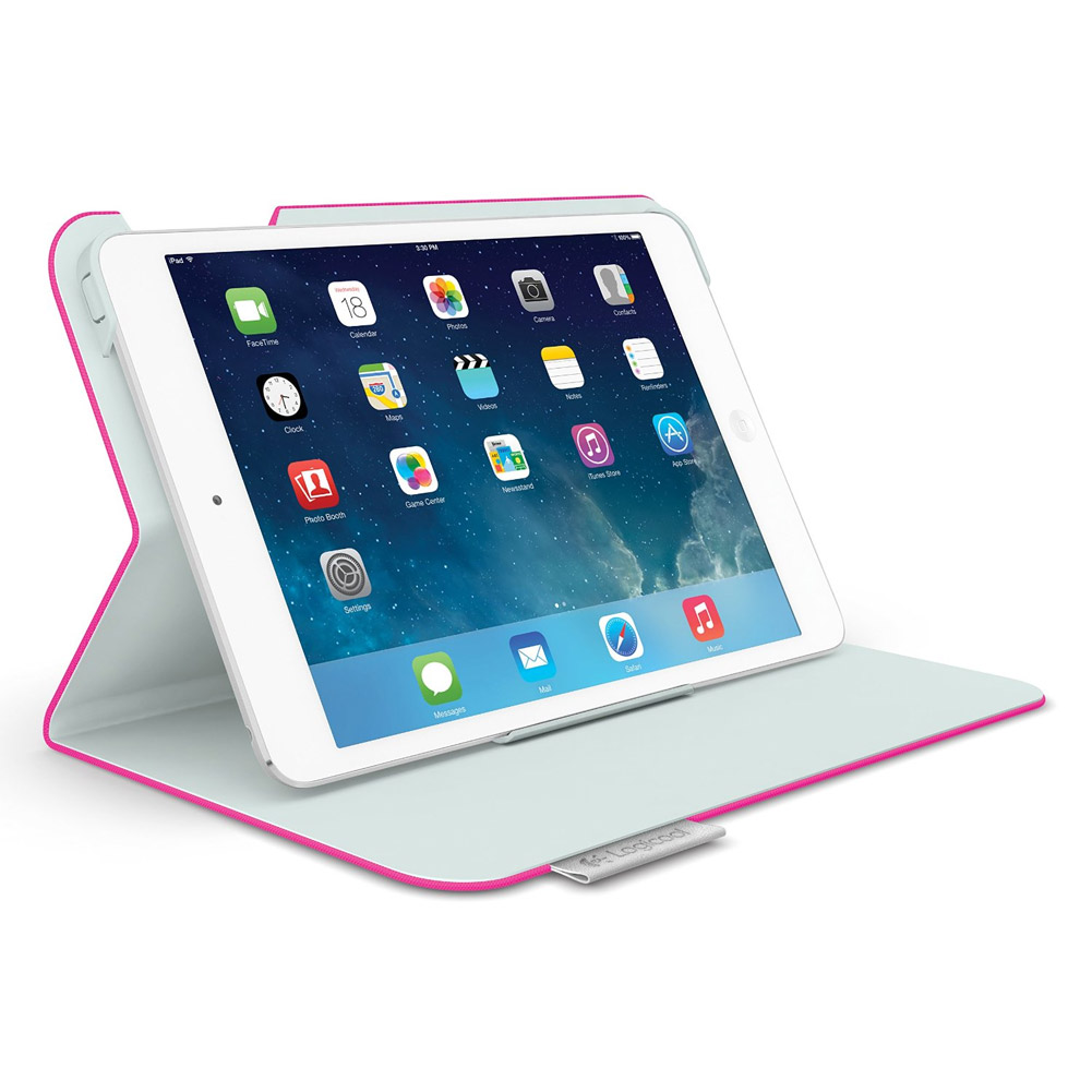 Logicool Folio Protective Case for iPad mini, Fantasy Pink
