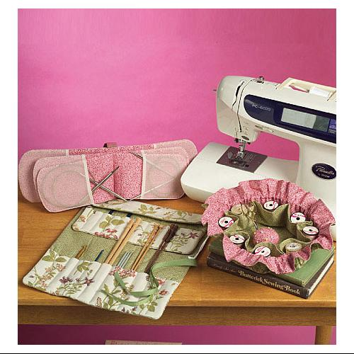 Sewing and Knitting Tote and Accessories - One Size Only Pattern