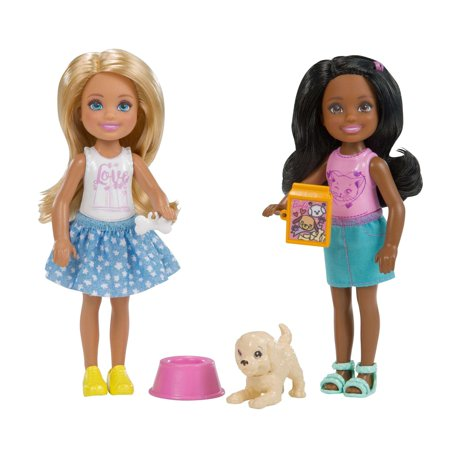 Barbie Chelsea Dolls Pet 2 Pack](Chelsea Smile)