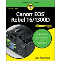 For Dummies (Lifestyle): Canon EOS Rebel T6/1300d for Dummies (Paperback)