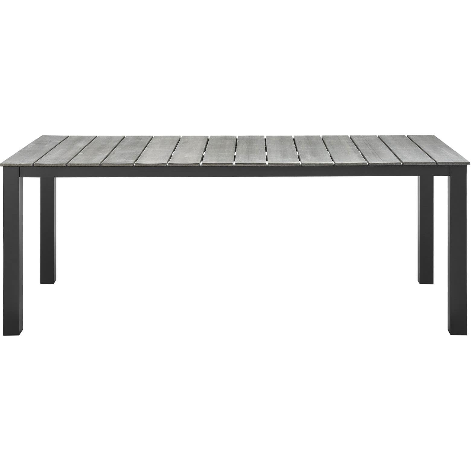 Modway Main 80 Inch Outdoor Patio Dining Table Walmartcom