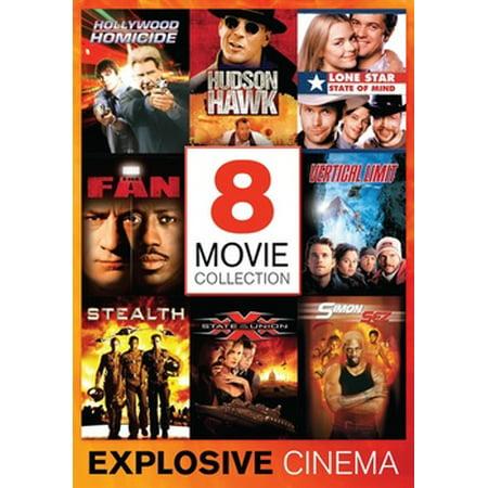 Explosive Polyester (EXPLOSIVE CINEMA-8 EXHILARATING MOVIES (DVD/4 DISC) (DVD))
