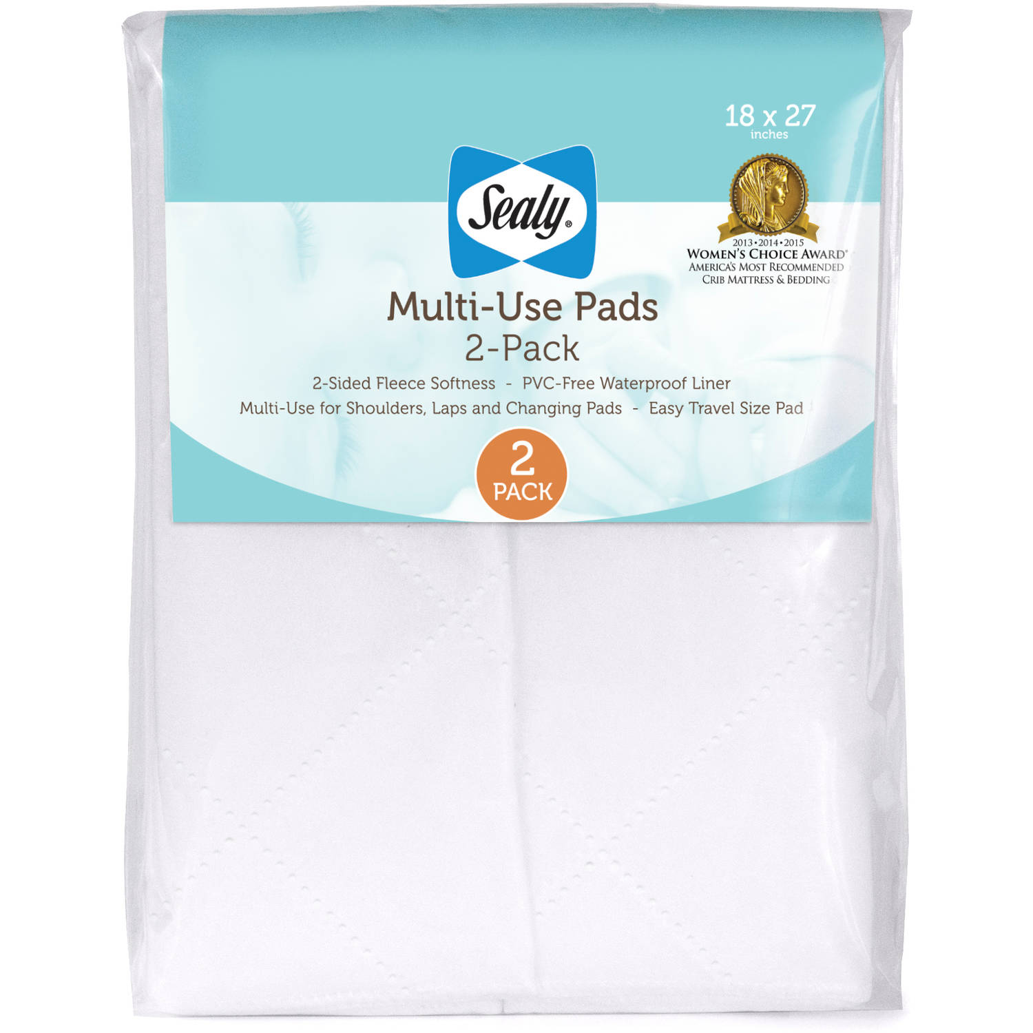 Sealy Multi-Use Pads, 2 Pack by Sealy