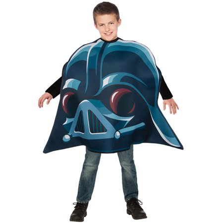 Child Angry Birds Star Wars Darth Vader Pig Costume by Rubies 886827, One Size