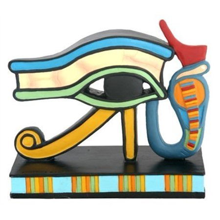 Wedjat Eye of Horus Collectible Egyptian Sculpture