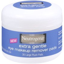 Facial Cleansing Wipes: Neutrogena Extra Gentle Eye Makeup Remover Pads