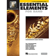 Essential Elements for Band - Eb Alto Saxophone Book 1 with Eei (Paperback)