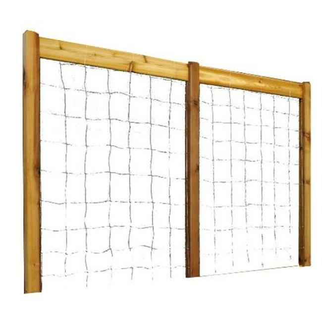 Gronomics TK 95-80S Safe Finish High Raised Garden Bed 95 x 80 H in. Trellis Kit