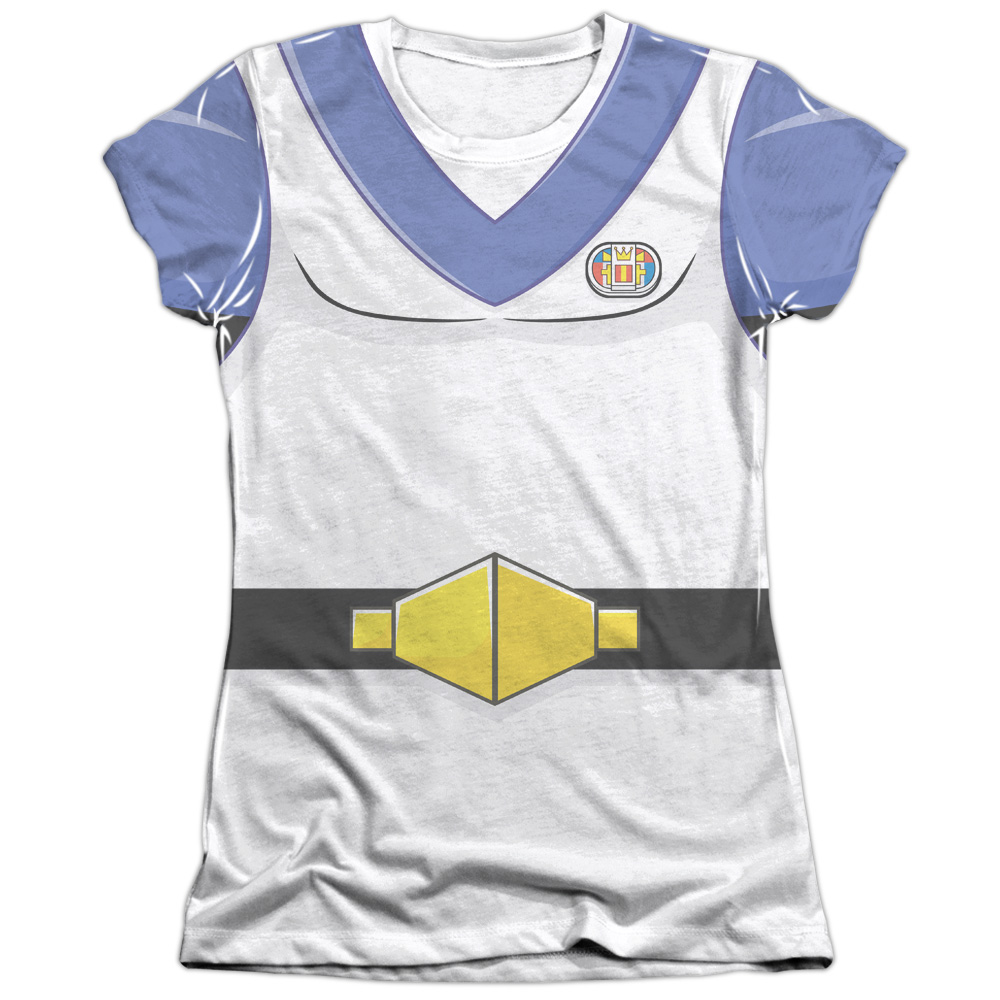 Voltron Lance Costume (Front Back Print) Juniors Sublimation Shirt