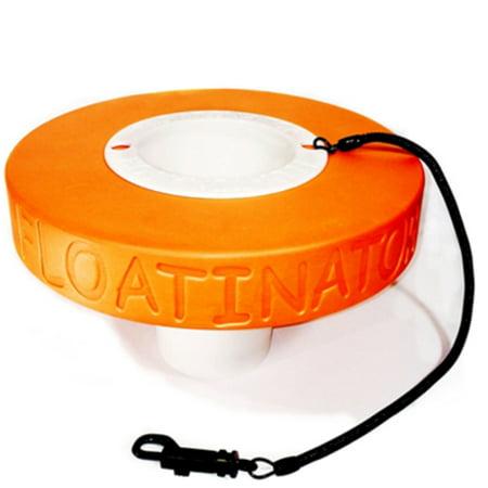 Floatinator Orange Floating cup holder to keep your favorite drink safe in the (Best Sake To Drink)