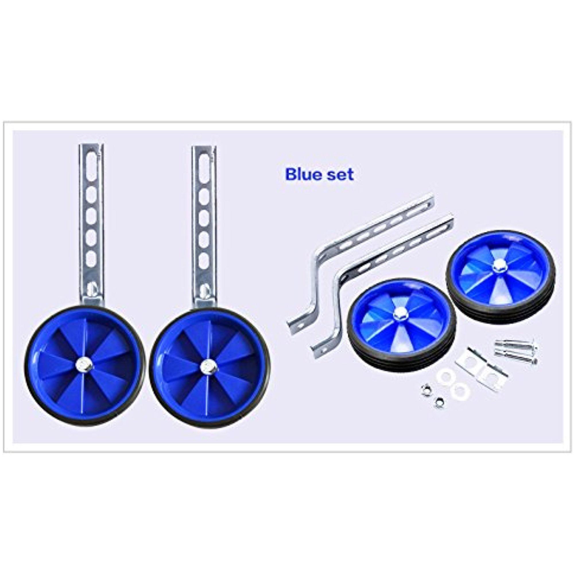 "Estink Children's Bicycle Training Wheels, Universal 10-22"" Bike accessories Stabiliser for Kids,Blue"