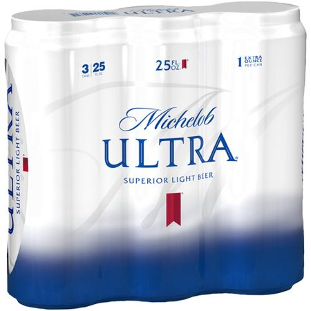 Michelob Ultra Light Beer, 3 pack, 25 fl oz