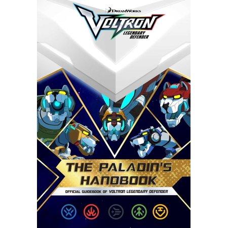 Voltron Legendary Defender  The Paladins Handbook  Paperback