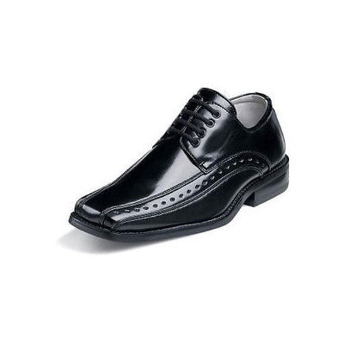 Stacy Adams DEMILL Youth Boys Black Laces Oxford Dress Shoes (12) by