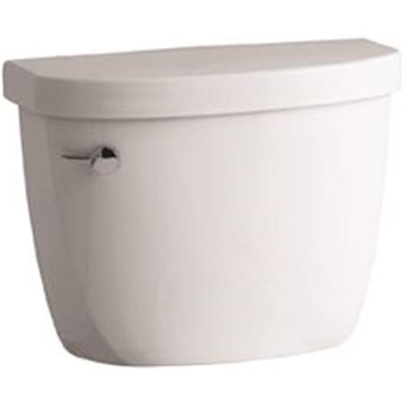 1.28 GPF Cimarron Watersense High Efficiency Toilet Tank with Left Hand Trip Lever, (High Efficiency Washer Leaves White Residue On Clothes)