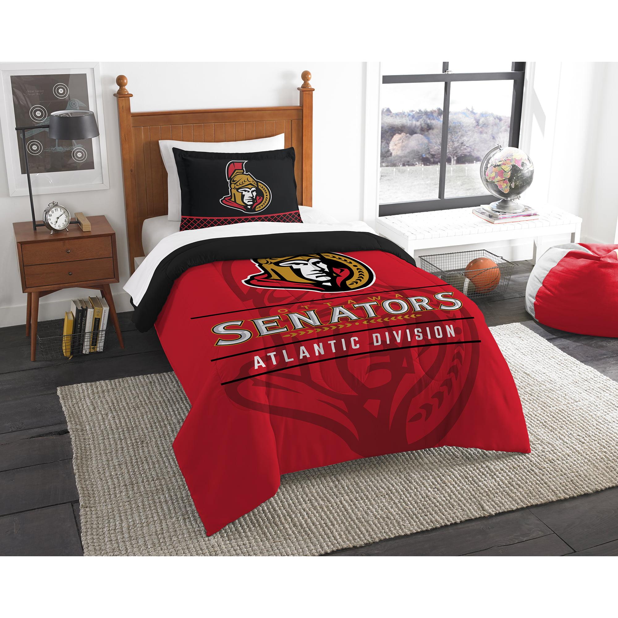 Ottawa Senators The Northwest Company NHL Draft Twin Comforter Set