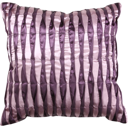 Better Homes and Gardens Shimmering Rosettes Decorative Square Pillow