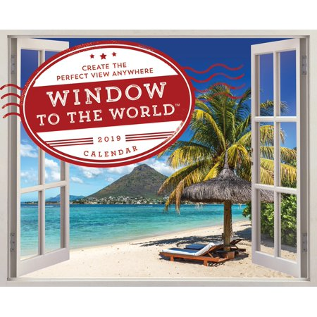2019 Window to the World (TM) Wall - Landscapes 2010 Calendar