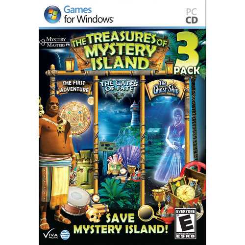 The Treasures of Mystery Island 3 Pack