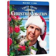 National Lampoon's Christmas Vacation (25th Anniversary Steelbook) (Blu-ray + DVD + Digital HD With UltraViolet)) by