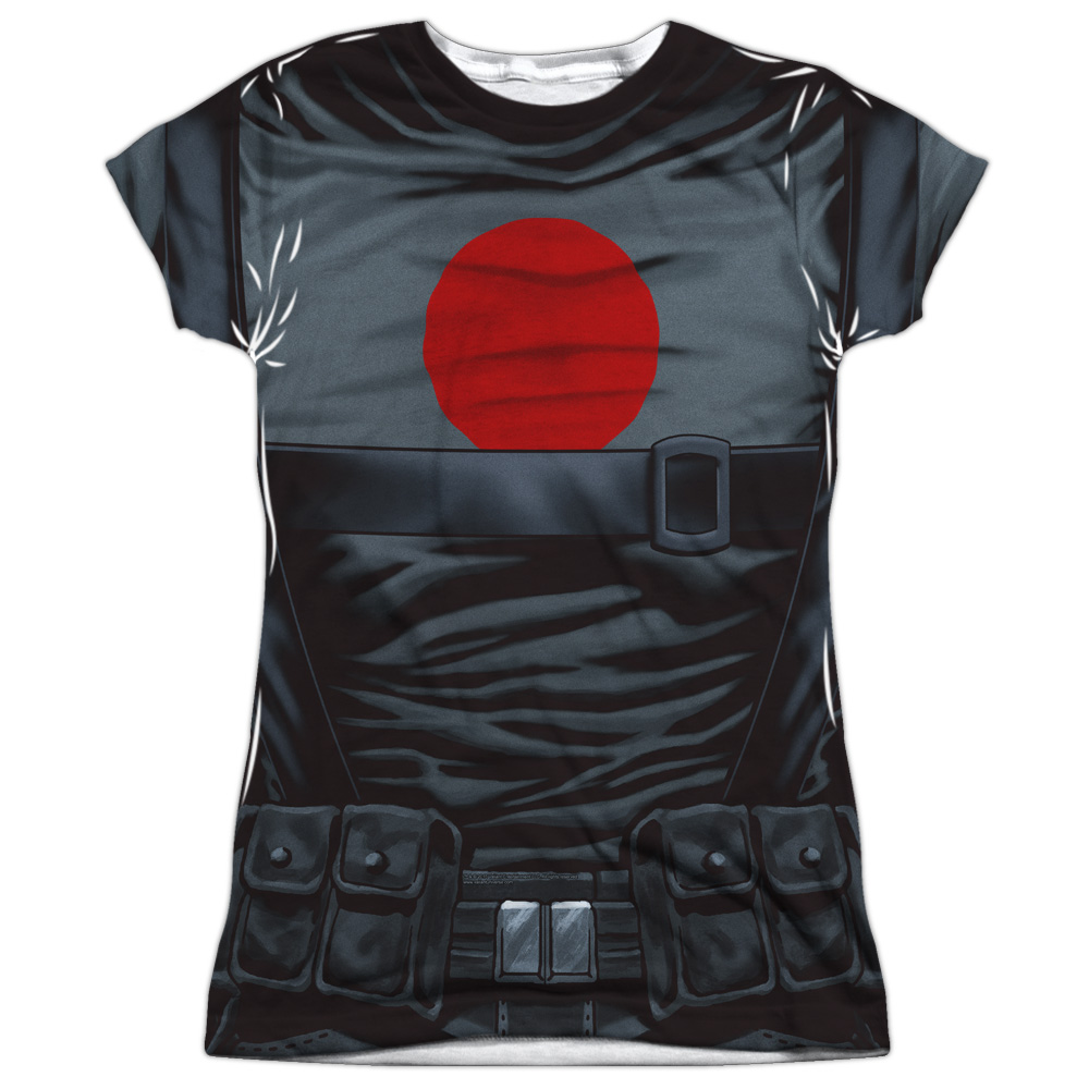 Bloodshot Shirt (Front Back Print) Juniors Sublimation Shirt
