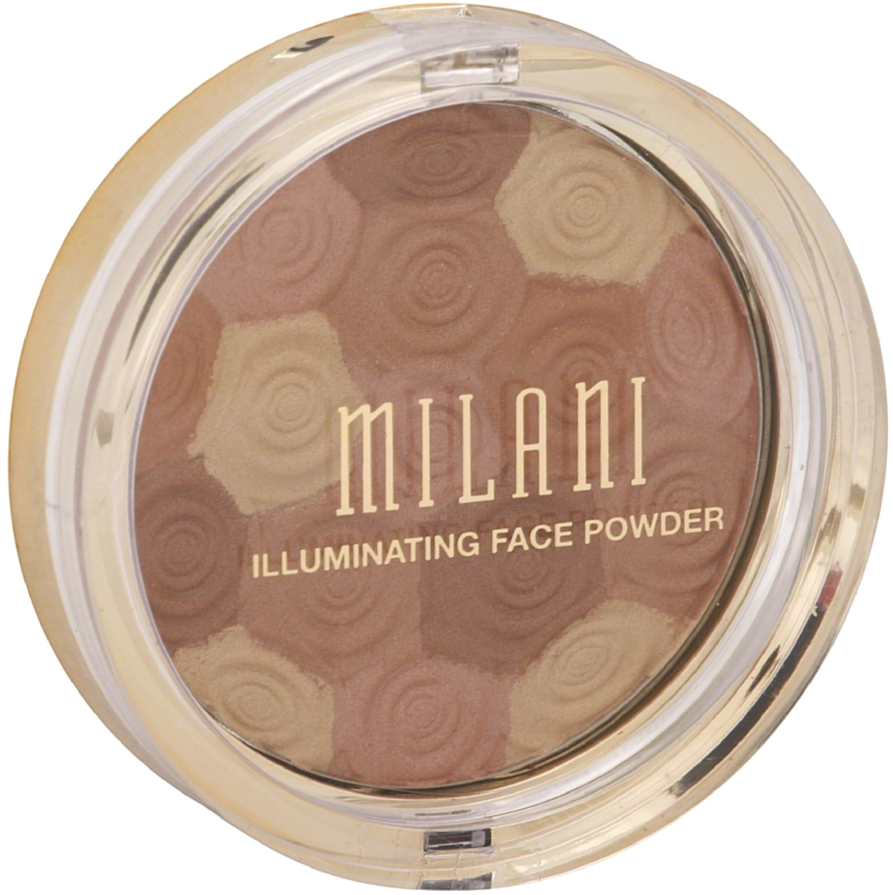 Milani Illuminating Face Powder, Hermosa Rose [02] 0.35 oz (Pack of 4)