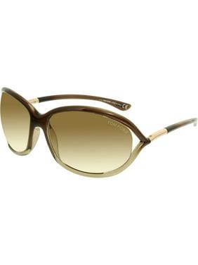 cc03ceeca2d9 Product Image Tom Ford Women s Jennifer FT0008-38F-61 Brown Square  Sunglasses