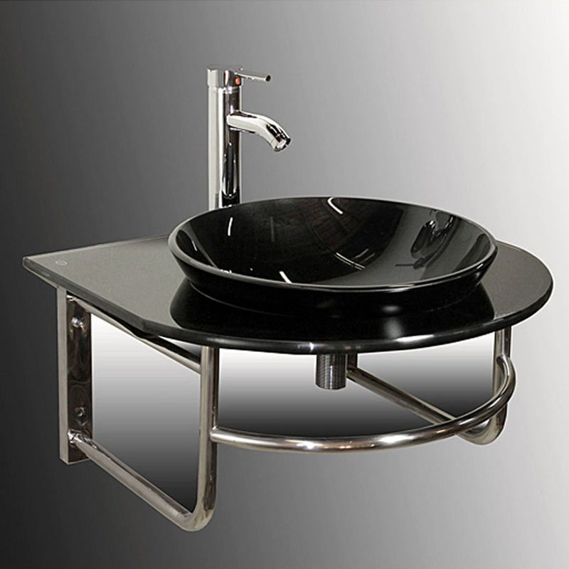 Kokols WF-38 24.5 in. Single Sink Bathroom Vanity