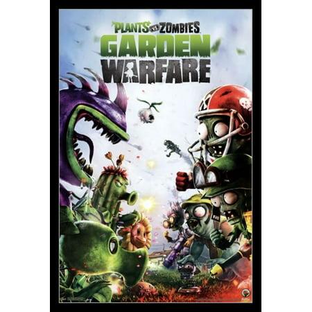 Plants vs Zombies Garden Warfare Poster Print