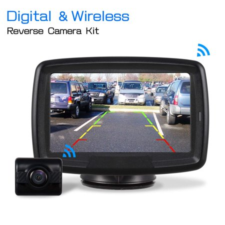 Auto Vox Td 2 Digital Wireless Backup Camera Kit Rear View