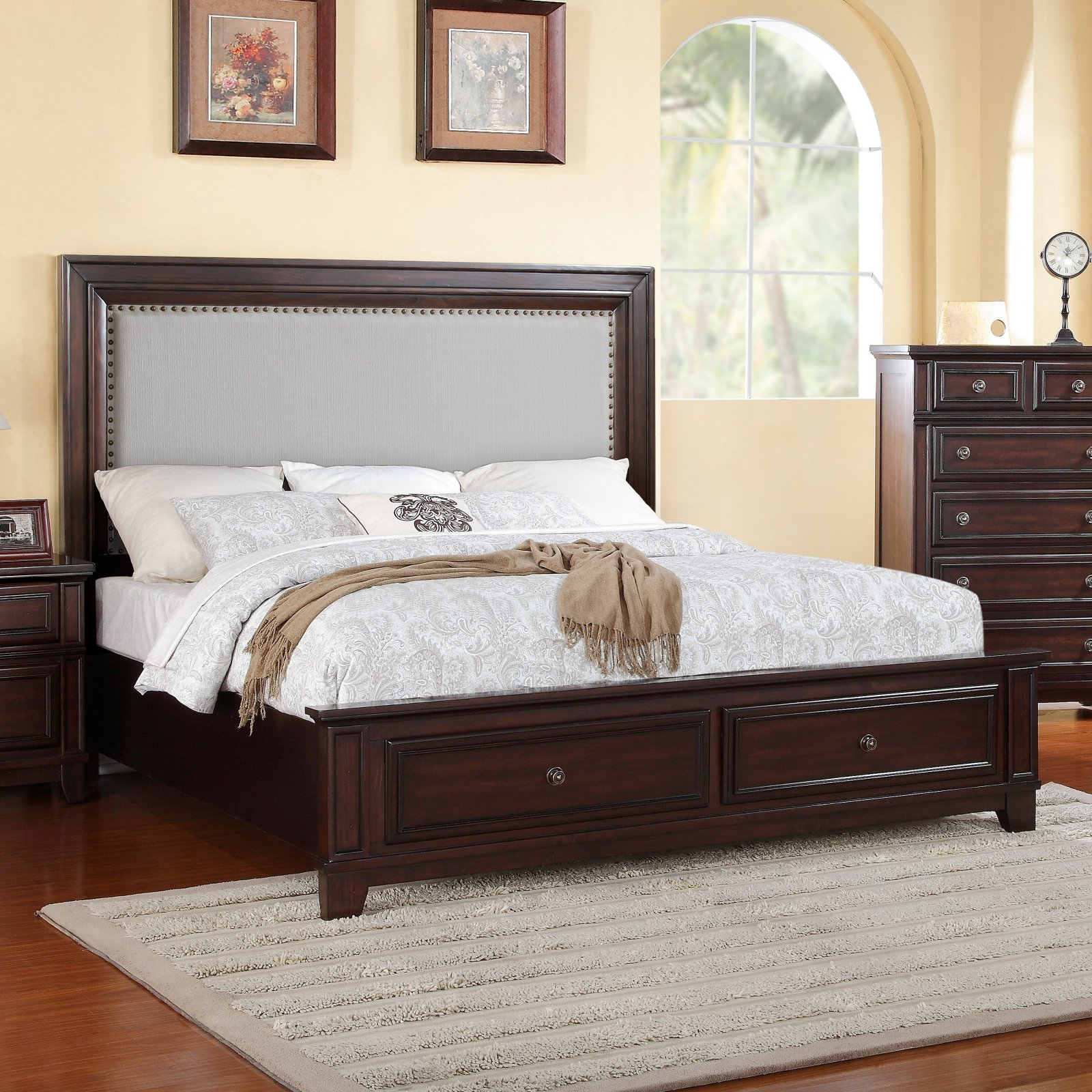 Picket House Furnishings Harwich Platform Storage Bed
